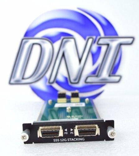 Dell Force10 S55-12G-2ST S55 2-Port 12G Stacking Module SKJ