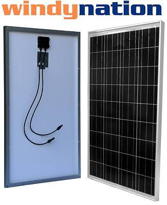 Factory Blemishes 100 Watt 100W 12V 12 Volt Solar Panel Battery Charger RV Boat
