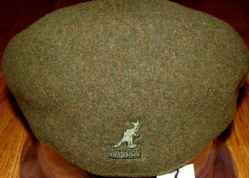 Winter Moss//Marigold  KANGOL  Wool  504-S  Ivy  Cap