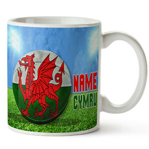Image Is Loading Personalised Mug Welsh Rugby Dad Gift Boys