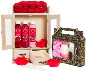 15-tlg-Bade-Set-Wellness-Pflegeset-Cranberry-Vanilla-Beautyset-Geschenk-Set