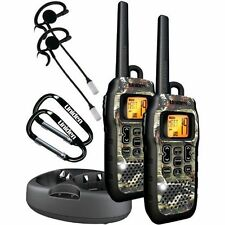 Walkie Talkie Waterproof Headset 50-Mile FRS GMRS Floating 2xTwo Way Radio