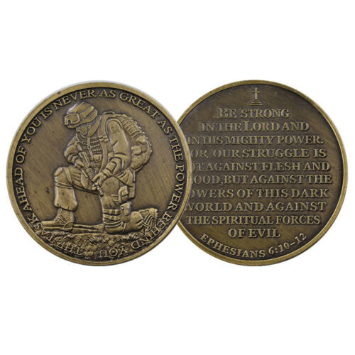 Business Souvenir Gifts Solid Creative Bronze Coin Bible Challenge Metal Coin