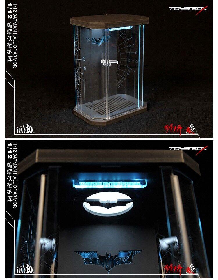 Juguetes-Caja 1 12 escala comicave SHF Arsenal de Cable de caja de presentación Modelo F Figura De Batman