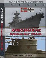 Kriegsmarine Historic Ww2 German Navy Films On Dvd