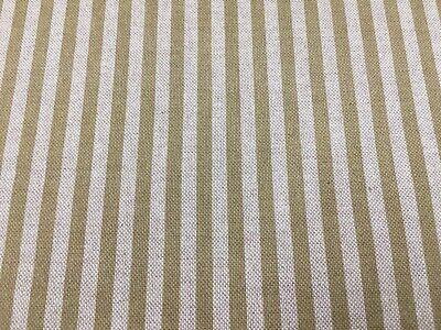 PROVENCALE TOILE ocre jaune lin//coton 140 cm de large Rideau//Ameublement Tissu