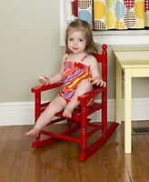 Jack-post Kn-10r Classic Child's Porch Rocker Red, New, Free Shipping