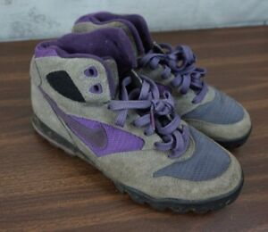 b438aa724c1 Details about Vintage 1993 Nike Caldera Hiking Boots Purple 185090-450  Women's Size 7.5