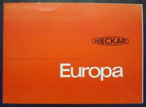 NSU-NECKAR-TYPE-EUROPA-SALES-BROCHURE-DANISH-C-1962