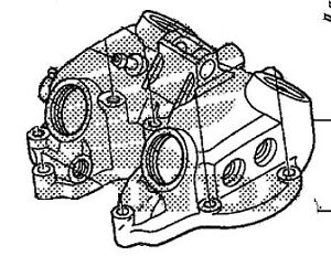 honda oem cylinder head cover 1999 2007 trx400ex 99 07 trx 400ex Engine Head Parts Diagram image is loading honda oem cylinder head cover 1999 2007 trx400ex