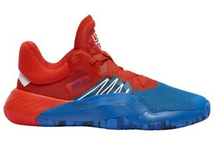 Adidas D.O.N. Issue 1 Blue Red White Release Date EF2400
