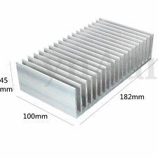 182x100x45mm Aluminum Heat Sink Heatsink for High Power LED Amplifier Transistor