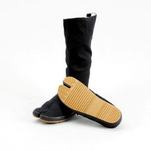Outdoor Tabi, mit langem Schaft, Gummisohle. 36-46. Ninja Schuhe, Ninjutsu.