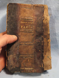 EMILE-ZOLA-PARIS-BIBLIOTHEQUE-CHARPENTIER-1898-A-RESTAURER-26e-mille