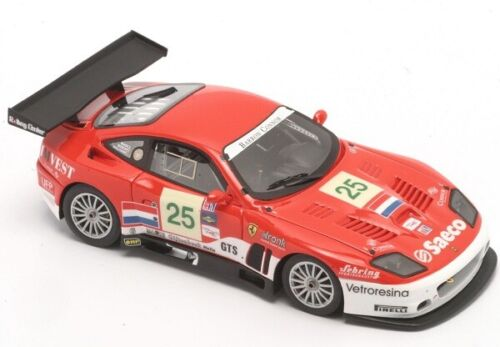 Ferrari 575 GTC  12h Sebring 2004  Metall-Bausatz  BBR  PJ326  1:43  NEU  OVP
