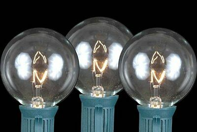 Novelty's Globe Shaped Christmas Replacement Bulbs E17/C9 Intermediate Base 7 Wa