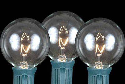 Novelty's Globe Shaped Christmas Replacement Bulbs E17/C9 Intermediate Base 7 Wa