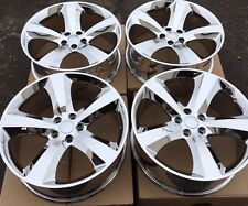 """SET OF FOUR 4 20"""" WHEELS RIMS for DODGE CHARGER CHALLENGER MAGNUM PVD CHROME NEW"""