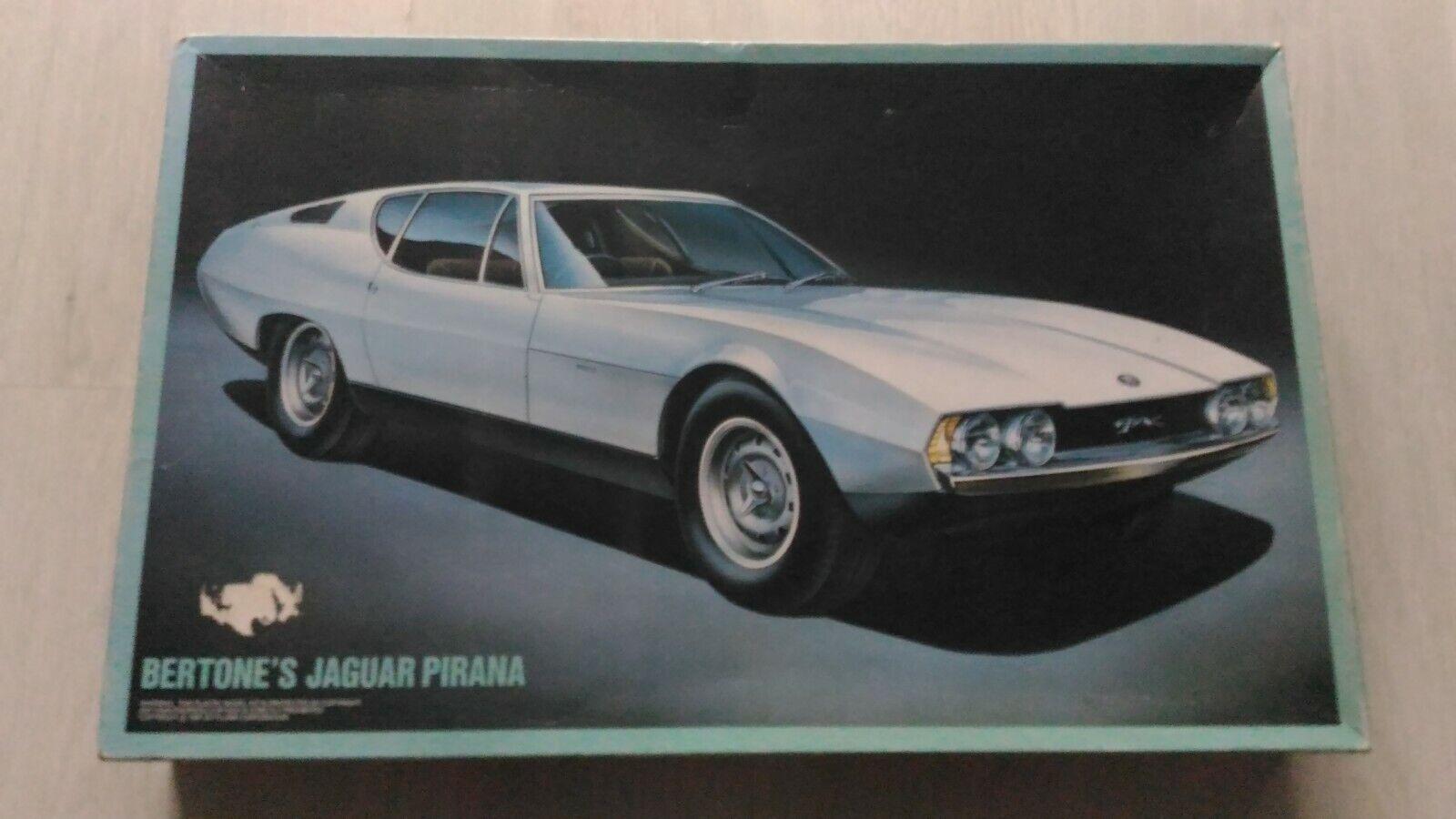 Fujimi 1 16 Scale Bertone s Jaguar Pirana Model Kit RARE