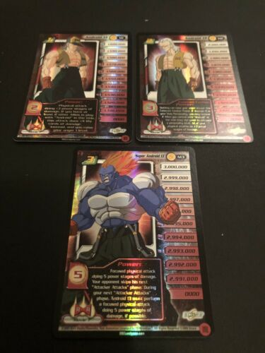 Dragon Ball Z CCG Super Android 13 Lvl 1-3! Movie 7 Promo!!