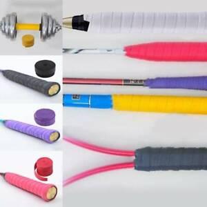 Tennis Badminton Colors Squash Handle Tape Anti Slip Racket Over Grip Roll sport