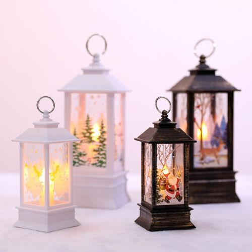 LED Öllampensimulation Tragbare Hängelampe Laterne Weihnachtsdekor