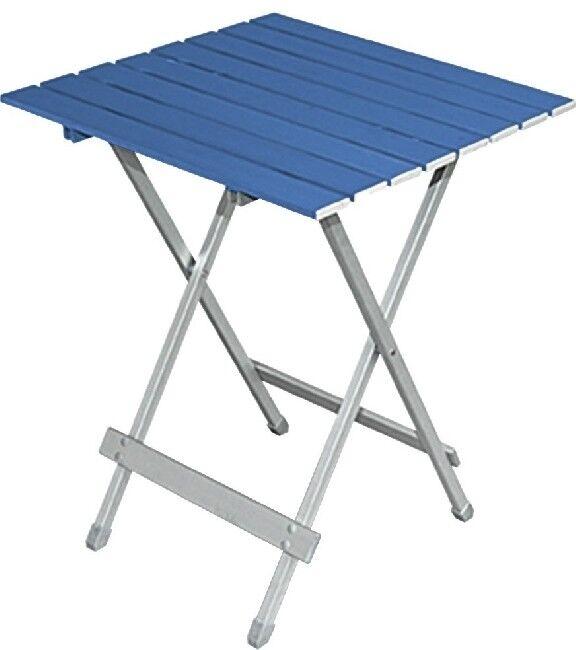 Camping Brunner Aluminium table pliante Table d'appoint Table twist XL Blau