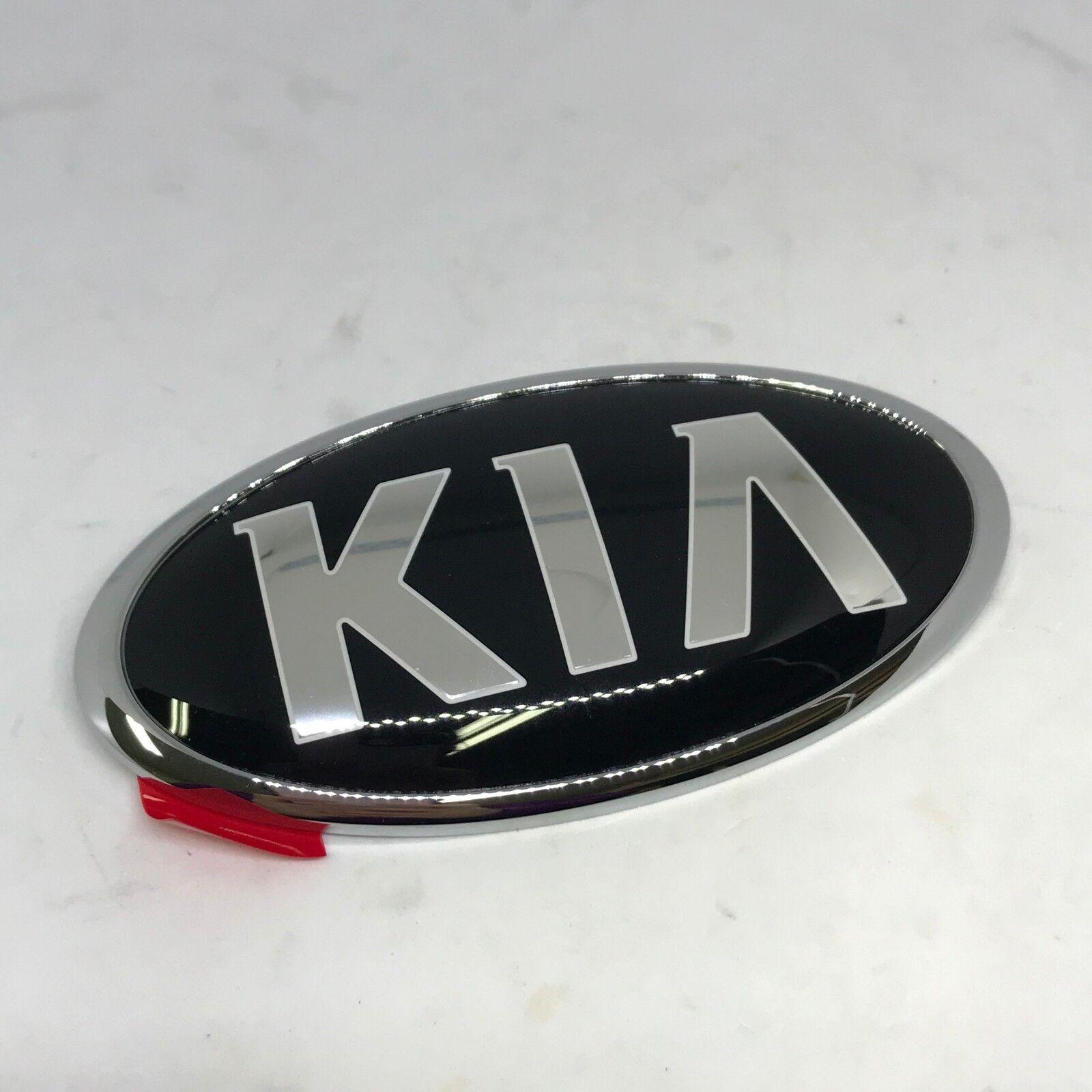 Rear KIA Logo Trunk Emblem 1Pcs Genuine 863182T000  For Kia Picanto 2011 2014