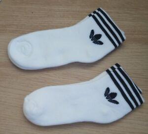 Adidas Performance Trainer Chaussettes Deux Paires De Chaussure Taille... 3 - 51/2-afficher Le Titre D'origine