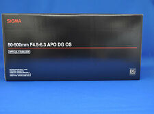 Sigma APO 50-500mm F4.5-6.3 DG OS HSM For Canon Zoom Lens  Japan Model New