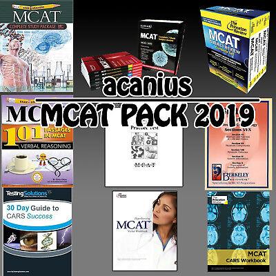 MCAT 2019 Complete Set: Kaplan, Examkrackers, Princeton, Berkeley & FL  Practices   eBay