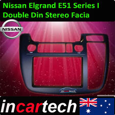 GENUINE Nissan Elgrand E51 04-07 Double 2 Din Facia GPS/TV/DVD/CAMERA Syd Stock