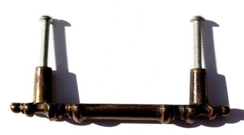 Vintage 1965 Gold DRAWER CABINET PULLS /& SCREWS HARDWARE Knob HANDLE