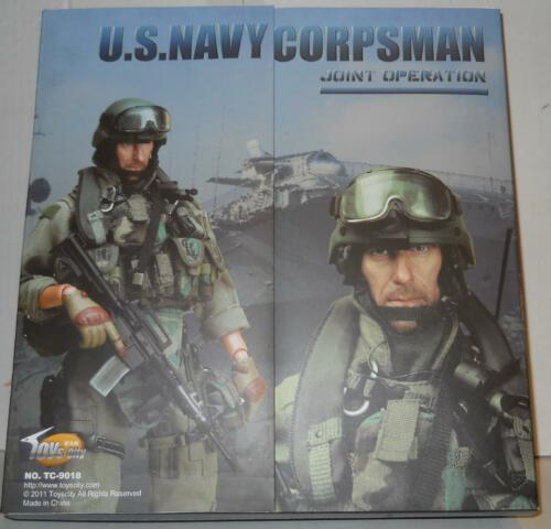 2011 16 scale Toys City US Navy Corpsman Special Operations Figure MIB
