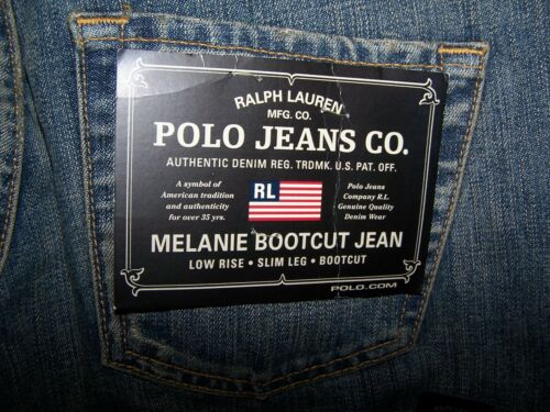 32 Nwt Bootcut Lauren Azienda Jeans Fly Polo Melanie Ralph 28 Donna Zip X Bzq4wCq