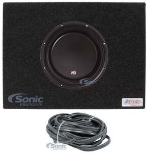 MTX-3510-04S-10-034-600W-Shallow-Car-Audio-Subwoofer-Sealed-Sub-Box-Slim-Enclosure