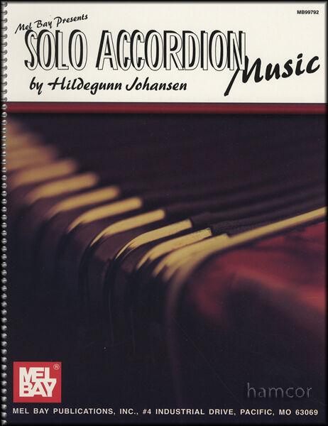 Solo Accordion Music Sheet Music Book
