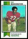 1973 Topps Vic Washington #238 Football Card