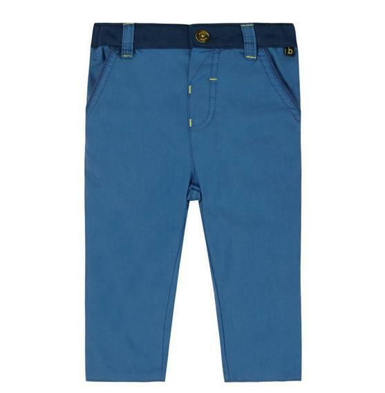 50c8db8236e5 Ted Baker Baby Boys Trousers Chinos Blue DESIGNER Cotton Newborn 0-3 Months