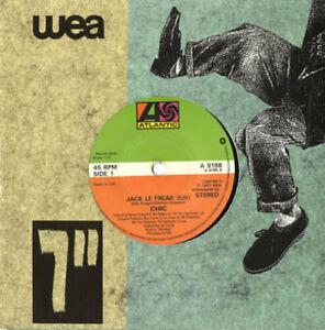 Chic-Jack-Le-Freak-Solid-7-034-vinyl-single-record-UK-A9198-ATLANTIC-1987