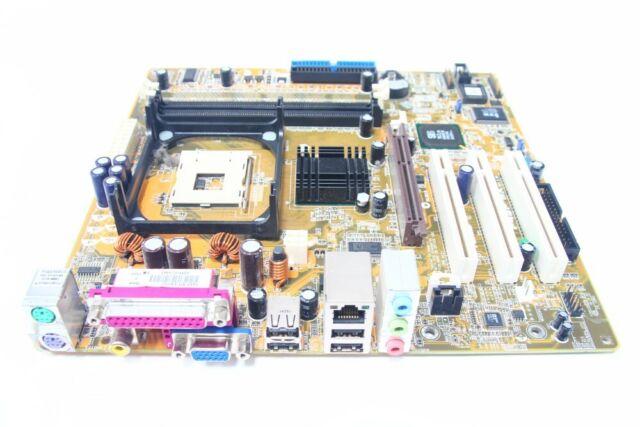 Asus P4SP-MX Matx Bureau PC Carte Mère Intel Socle/Prise 478 AGP DDR1