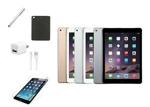 Apple-iPad-Air-2-Bundle-16GB-64GB-Space-Gray-Silver-Gold-Free-Shipping