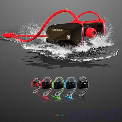 Jabees Mini Wireless Bluetooth Headset Sports Waterproof Headphone NFC Earphone