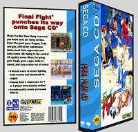 Final Fight - Sega Cd Reproduction Art Dvd Case No Game