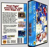 Final Fight - Sega Cd Reproduction Art Dvd Case No Game