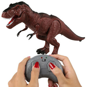 Moving-Walking-Roaring-Dinosaur-Remote-Control-Electronic-Light-Sound-Kids-Toy-H