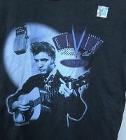 Classic  Elvis The Hillbilly Cat  Men's Tee-shirt Size Small Color Black