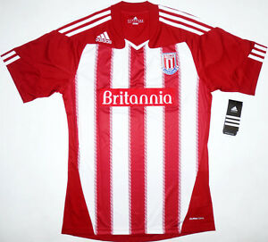 10-11-Stoke-City-Home-Football-Shirt-Soccer-Jersey-Top-Kit-England-NEW-FA-Cup