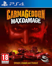 Carmageddon Max Damage PS4 Playstation 4 IT IMPORT SOLD OUT PUBLISHING
