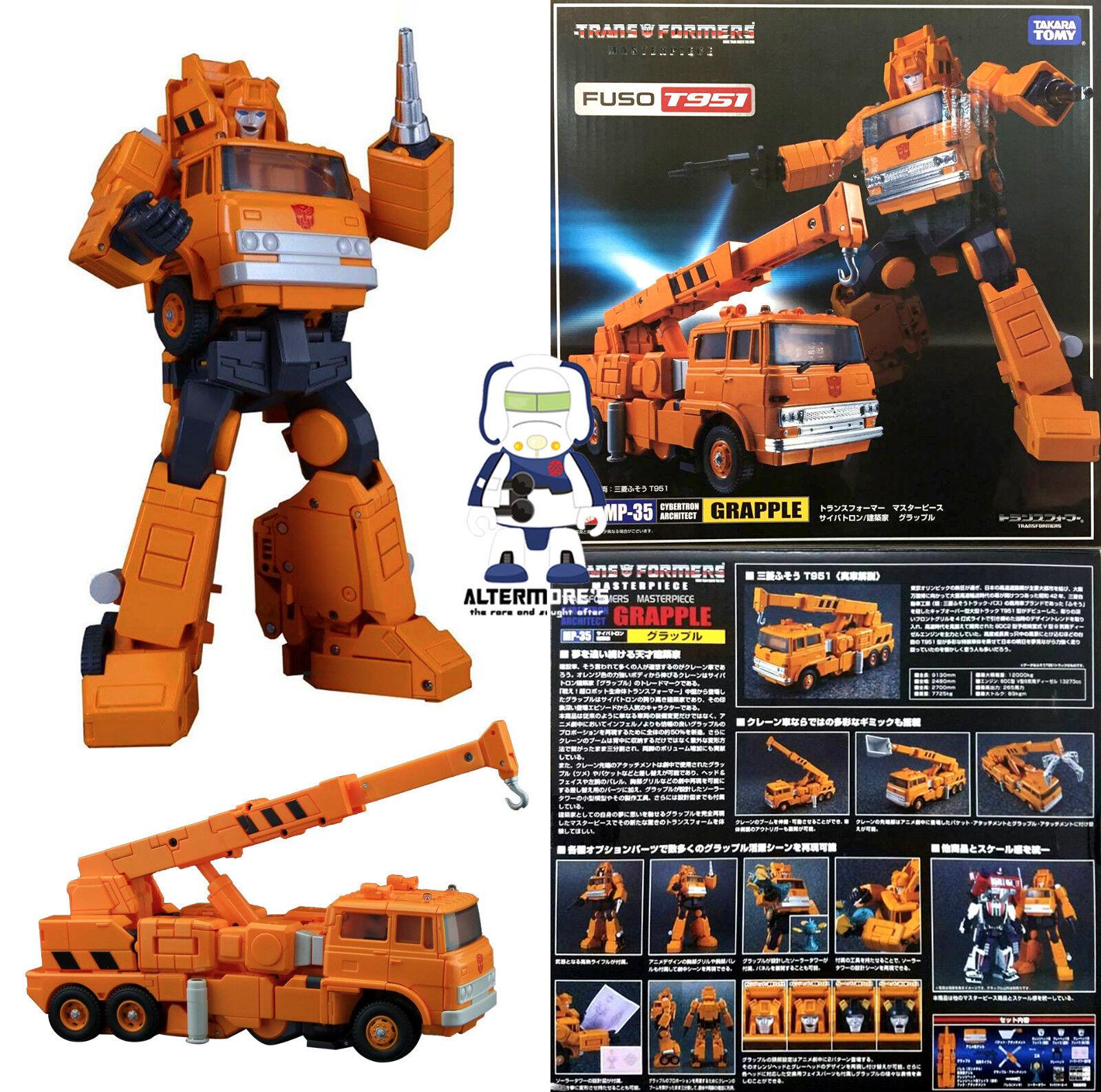 Transformers Takara Tomy Masterpiece MP-35 Grapa Nuevo Sellado